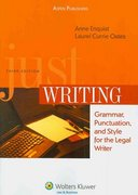 Just Writing 3rd Edition 9780735576681 0735576688