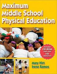 Maximum Middle School Physical Education 0 9780736057790 073605779X