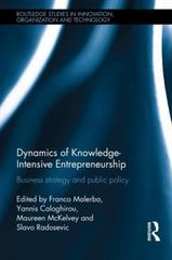 Dynamics of Knowledge Intensive Entrepreneurship 1st Edition 9781138025288 1138025283
