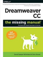 Dreamweaver CC: the Missing Manual 2nd Edition 9781491947203 1491947209