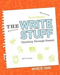 The Write Stuff 3rd Edition 9780134036731 0134036735
