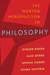 The Norton Introduction to Philosophy 1st Edition 9780393932201 0393932206