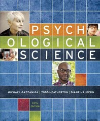 Psychological Science 5th Edition 9780393269444 0393269442