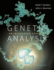 Genetic Analysis 2nd Edition 9780321948465 0321948467