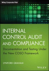 Internal Control Audit and Compliance 1st Edition 9781118996218 1118996216