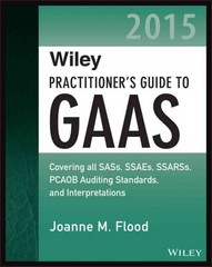 Wiley Practitioner's Guide to GAAS 2015 1st Edition 9781118978979 1118978978
