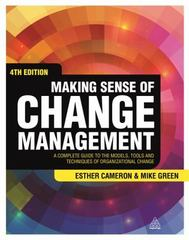 Making Sense of Change Management 4th Edition 9780749472580 0749472588