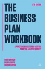 The Business Plan Workbook 8th Edition 9780749472832 0749472839