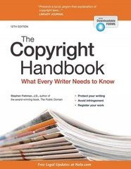 Copyright Handbook, The 12th Edition 9781413320497 141332049X