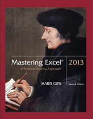 Mastering Excel 2013 2nd Edition 9781269888004 1269888005