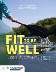 Fit To Be Well 4th Edition 9781284042429 1284042421