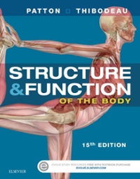 Structure & Function of the Body - Hardcover 15th Edition 9780323357258 0323357253