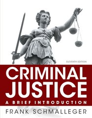 Criminal Justice 11th Edition 9780133591316 013359131X
