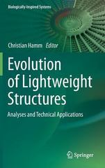 Evolution of Lightweight Structures 1st Edition 9789401793988 9401793980