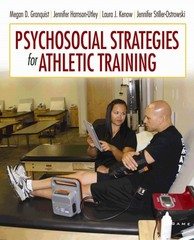 Psychosocial Strategies for Athletic Training 1st Edition 9780803643970 0803643977