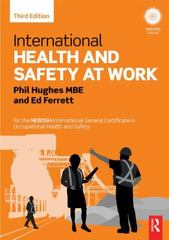 International Health and Safety at Work 3rd Edition 9781317556701 1317556704