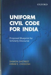 Uniform Civil Code for India 1st Edition 9780198077121 0198077122