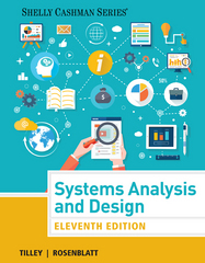 Systems Analysis and Design 11th Edition 9781305494602 1305494601