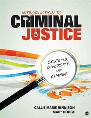 Introduction to Criminal Justice 1st Edition 9781452240671 1452240671