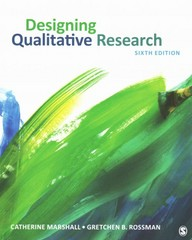 Designing Qualitative Research 6th Edition 9781452271002 1452271003