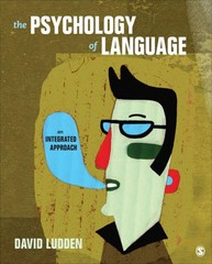 The Psychology of Language 1st Edition 9781452288802 1452288801