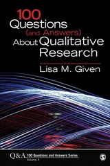 100 Questions (and Answers) About Qualitative Research 1st Edition 9781483345642 1483345645