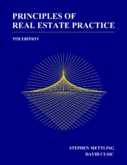 Principles of Real Estate Practice 5th Edition 9781630181901 1630181900