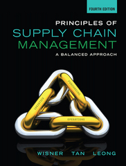 Principles of Supply Chain Management 4th Edition 9781285428314 1285428315