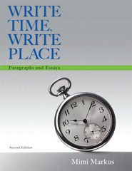 Write Time, Write Place 2nd Edition 9780134038230 0134038231