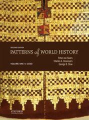 Patterns of World History 2nd Edition 9780199399628 019939962X