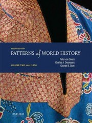Patterns of World History 2nd Edition 9780199399635 0199399638