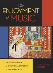 The Enjoyment of Music 12th Edition 9780393936384 0393936384