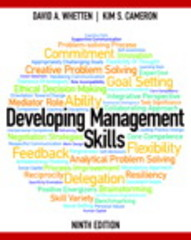 Developing Management Skills 9th Edition 9780133129779 0133129772