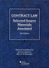 Contract Law 2014 2014th Edition 9781628100617 1628100613