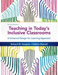 Teaching in Today's Inclusive Classrooms 3rd Edition 9781305500990 1305500997