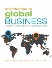 Introduction to Global Business 2nd Edition 9781305501188 1305501187