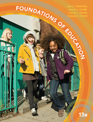 Foundations of Education 13th Edition 9781305500983 1305500989