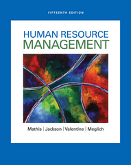Human Resource Management 15th Edition 9781305500709 1305500709