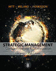 Strategic Management: Concepts and Cases 12th Edition 9781305502147 1305502140