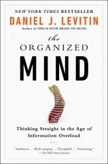 The Organized Mind 1st Edition 9780147516312 0147516315