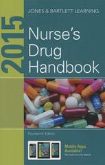 2015 Nurse's Drug Handbook 14th Edition 9781284054613 1284054616