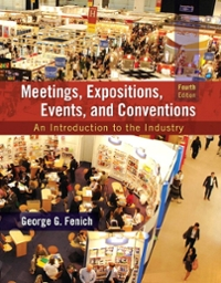 Meetings, Expositions, Events and Conventions 4th Edition 9780133815245 0133815242