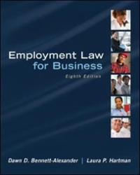 Employment Law for Business 8th Edition 9780077650551 0077650557