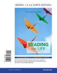 Reading for Life, Books a la Carte Edition Plus MyReadingLab with Pearson etext - Access Card Package 2nd Edition 9780133949599 0133949591