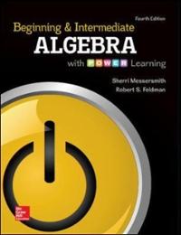 Beginning and intermediate algebra with power learning 4th beginning and intermediate algebra with power learning 4th edition 9780073512914 0073512915 fandeluxe Image collections