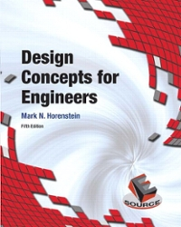 Design Concepts for Engineers 5th Edition 9780134001876 0134001877