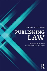 Publishing Law 5th Edition 9781138803794 1138803790