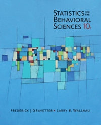 Statistics for the behavioral sciences 10th edition rent statistics for the behavioral sciences 10th edition rent 9781305504912 chegg fandeluxe Image collections