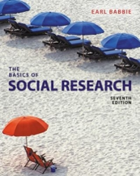 The Basics of Social Research 7th Edition 9781305503076 1305503074