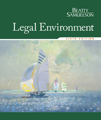 Legal Environment 6th Edition 9781305507487 1305507487